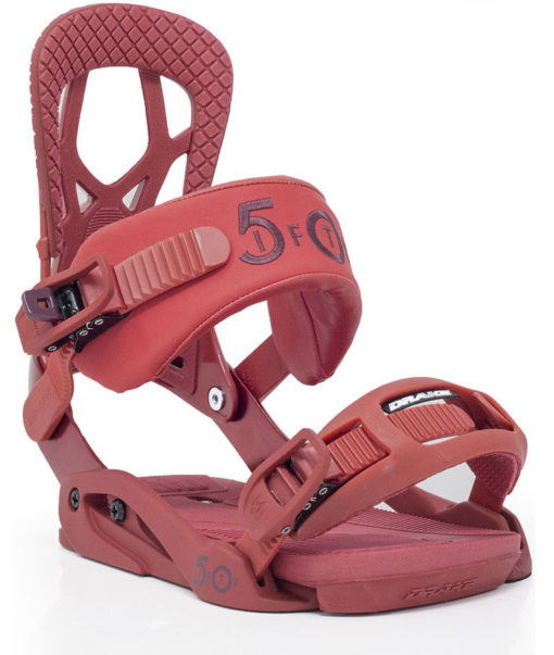 attacchi snowboard drake fifty red 2019-2020