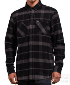 camicia volcom shaders ls colore black