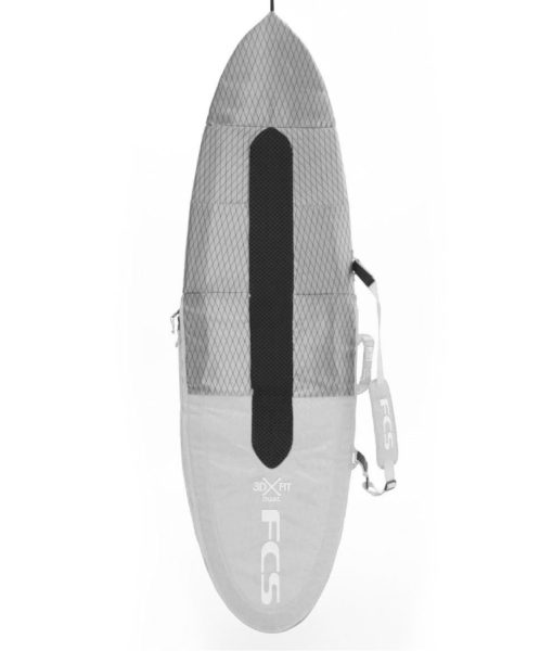 sacca surf fcs day all purpose light grey surfboard cover