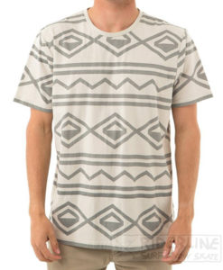 t-shirt captain fin modello knit tribal ss