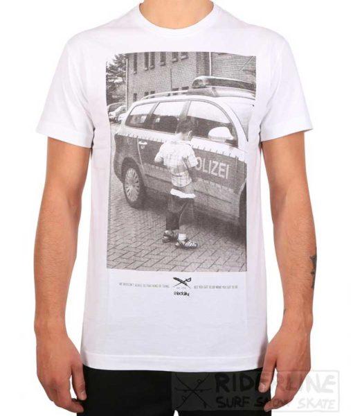 t-shirt iriedaily pissizei tee white