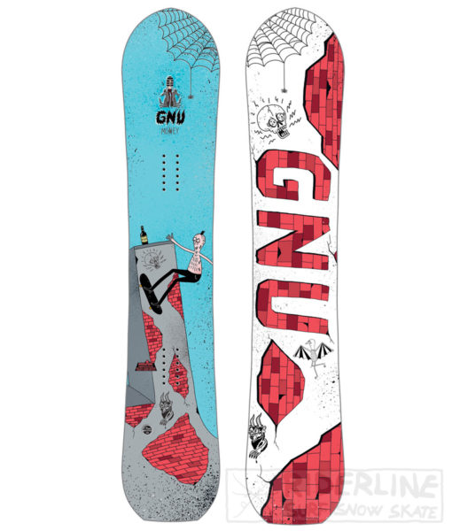 tavola snowboard gnu money 2018-2019