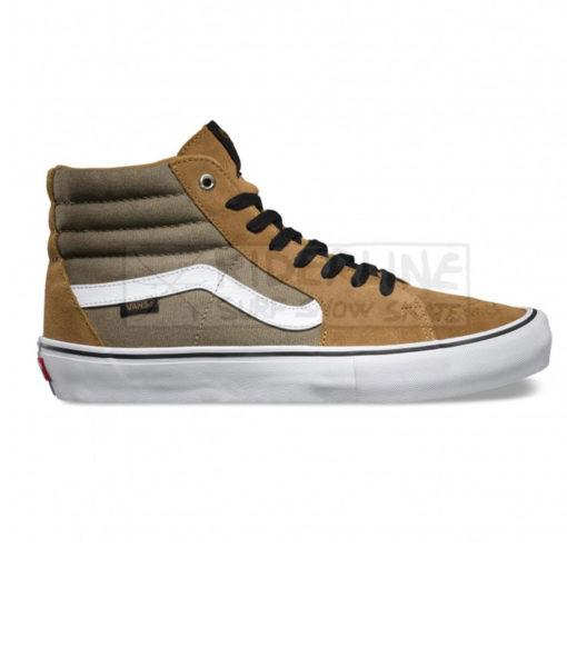scarpe vans sk8 hi pro covert green